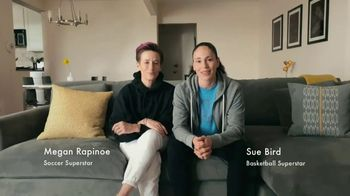 Symetra TV Spot, \'Sue and Megan At Home\' Featuring Megan Rapinoe, Sue Bird