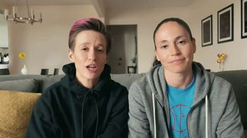 Symetra TV Spot, 'Sue and Megan At Home' Featuring Megan Rapinoe, Sue Bird - Thumbnail 3