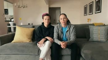 Symetra TV Spot, 'Sue and Megan At Home' Featuring Megan Rapinoe, Sue Bird - Thumbnail 9
