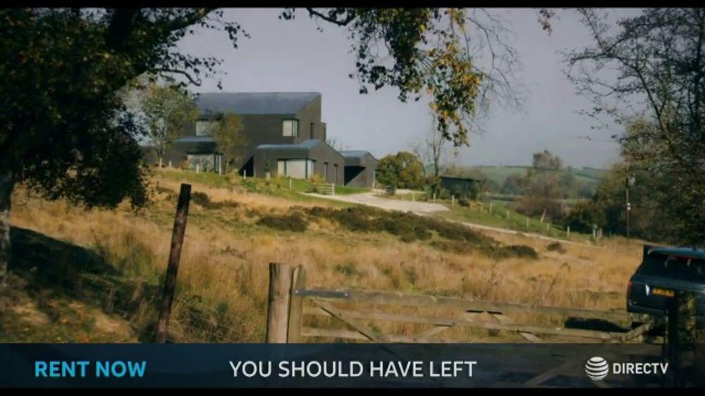 DIRECTV Cinema TV Commercial, 'You Should Have Left'