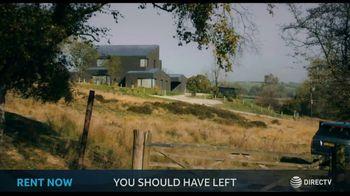DIRECTV Cinema TV Spot, 'You Should Have Left'