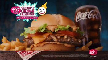 Jack in the Box Southwest Cheddar Cheeseburger Combo TV Spot, 'Menutaur: The Best: $4.99' - Thumbnail 8