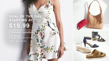 Macy's One Day Sale TV Spot, 'Dresses, Sandals and Swim' - Thumbnail 3