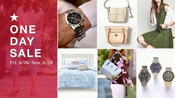 Macy's One Day Sale TV Spot, 'Jewelry and Home Updates'