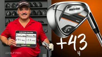 GolfTEC TV $95 Club Fitting Sale Spot, 'Cool Graphics: Callaway Mavrik' - Thumbnail 7