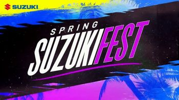 Spring Suzuki Fest TV Spot, \'Financing and Customer Cash\'