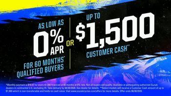 Spring Suzuki Fest TV Spot, 'Financing and Customer Cash' - Thumbnail 5