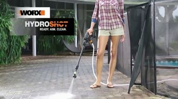 Worx Hydroshot TV Spot, 'Pressure Cleaning Anytime' - Thumbnail 2