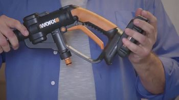 Worx Hydroshot TV Spot, 'Pressure Cleaning Anytime' - Thumbnail 4