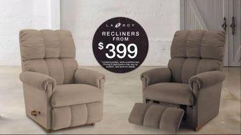 La-Z-Boy 4th of July Sale TV Spot, 'Recliners from $399' - Thumbnail 6