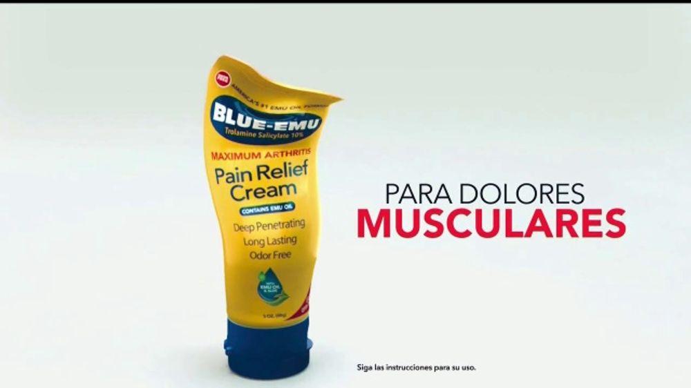 Blue-Emu Maximum Arthritis TV Commercial, 'Para dolores'