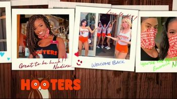 Hooters TV Spot, 'Baby Come Back: Now Safely Reopen' - Thumbnail 10