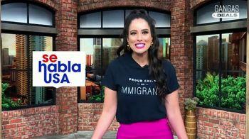 Gangas & Deals TV Spot, 'Mes del inmigrante' con Aleyda Ortiz [Spanish]