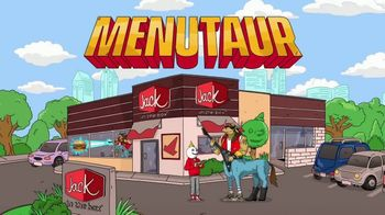 Jack in the Box Southwest Cheddar Cheeseburger TV Spot, 'Menutaur: It's Beautiful' - Thumbnail 2