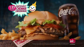 Jack in the Box Southwest Cheddar Cheeseburger TV Spot, 'Menutaur: It's Beautiful' - Thumbnail 9