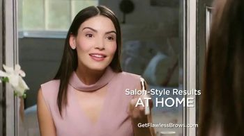 Flawless Brows TV Spot, 'Flawless Brows at Home' - Thumbnail 9