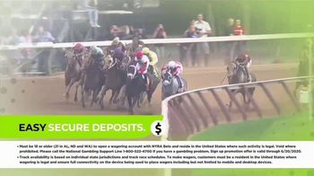 NYRA BETS TV Spot, '$25 Free Play and Up to $200 Deposit Match' - Thumbnail 6