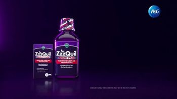 Vicks ZzzQuil Night Pain TV Spot, 'Interrupted by Pain' - Thumbnail 9