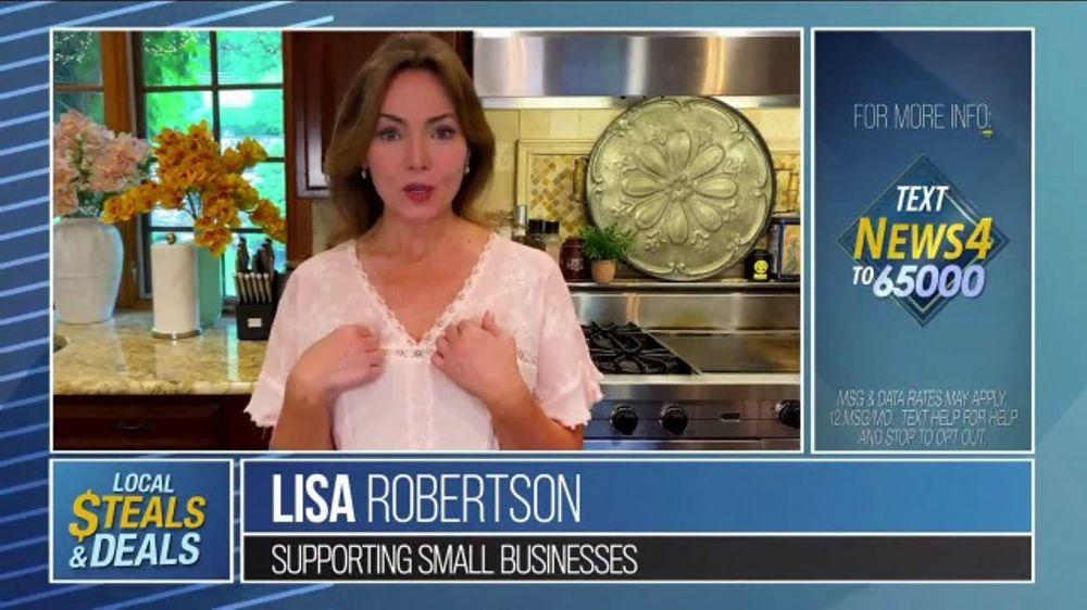 Local Steals & Deals TV Commercial, 'Be in the Know' Featuring Lisa Robertson