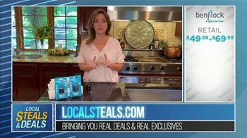 Local Steals & Deals TV Spot, 'Benjilock' Featuring Lisa Robertson - Thumbnail 9