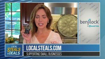 Local Steals & Deals TV Spot, 'Benjilock' Featuring Lisa Robertson - Thumbnail 2