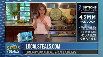 Local Steals & Deals TV Spot, 'Benjilock' Featuring Lisa Robertson - Thumbnail 4