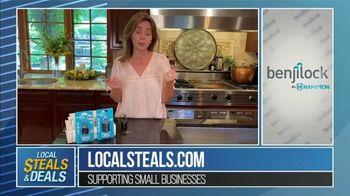 Local Steals & Deals TV Spot, 'Benjilock' Featuring Lisa Robertson - Thumbnail 8