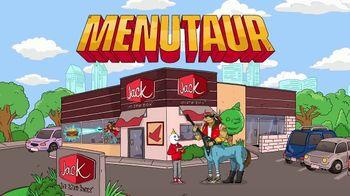 Jack in the Box Southwest Cheddar Cheeseburger TV Spot, 'Menutaur: $4.99' - 8 commercial airings