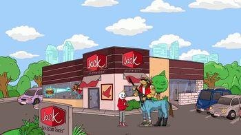 Jack in the Box Southwest Cheddar Cheeseburger TV Spot, 'Menutar: $4.99' - Thumbnail 1