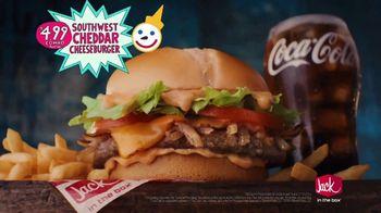 Jack in the Box Southwest Cheddar Cheeseburger TV Spot, 'Menutar: $4.99' - Thumbnail 9