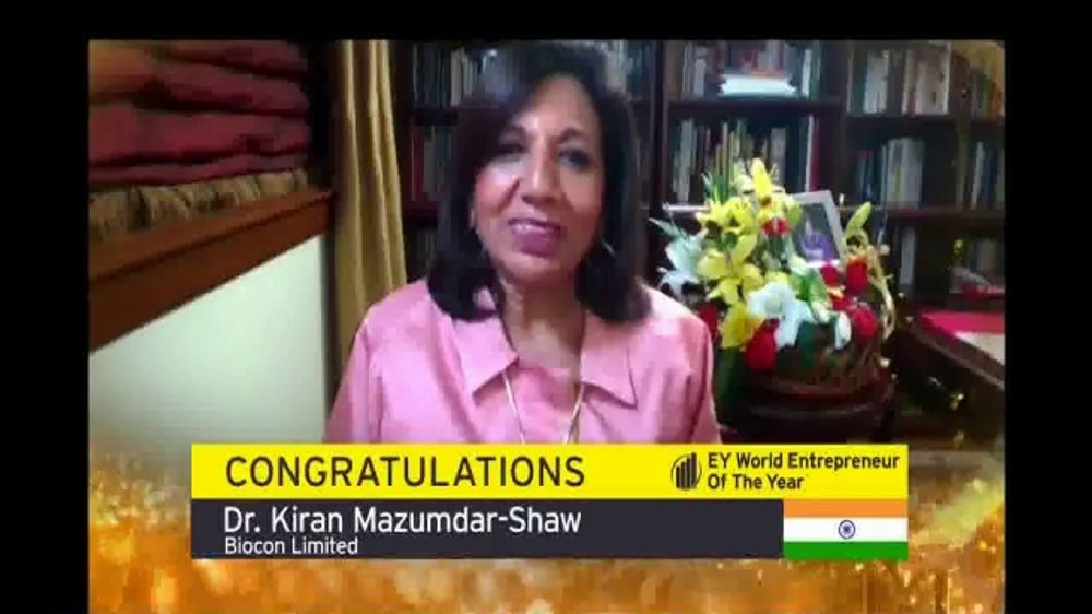 EY Global TV Commercial, '2020 EY World Entrepreneur of the Year'