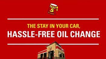 Take 5 Oil Change TV Spot, 'Every Fifth Oil Change Is Free'