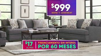 Rooms to Go 4 de Julio Súper Ofertas TV Spot, 'Sofá y loveseat' [Spanish] - Thumbnail 5