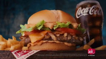 Jack in the Box Southwest Cheddar Cheeseburger Combo TV Spot, 'Menutauro' [Spanish] - Thumbnail 6