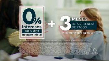Ashley HomeStore Venta de Stars and Stripes TV Spot, 'Cero interés' [Spanish] - Thumbnail 4