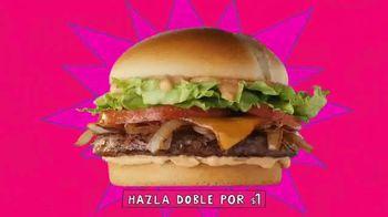 Jack in the Box Southwest Cheddar Cheeseburger Combo TV Spot, 'Menutauro: lo máximo' [Spanish] - Thumbnail 4