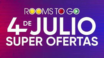 Rooms to Go 4 de Julio Súper Ofertas TV Spot, 'Dormitorio' [Spanish] - Thumbnail 6