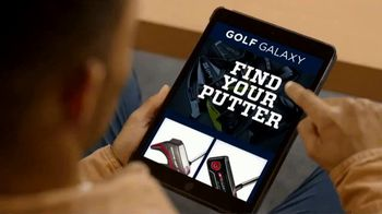 Golf Galaxy TV Spot, 'Contactless Club Fitting: Putter' - Thumbnail 1