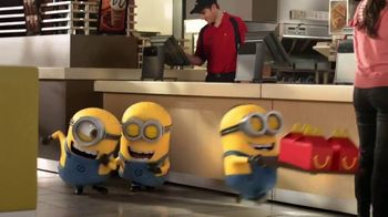 McDonald's Happy Meal TV Spot, 'Unleash Your Inner Minion' - 2039 commercial airings