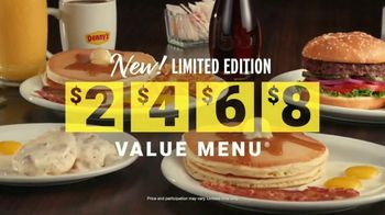 Denny's Limited Edition $2468 Value Menu TV Spot, 'Low Prices' - Thumbnail 6