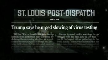 Priorities USA TV Spot, 'Slow the Testing' - Thumbnail 5