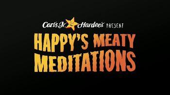 Carl's Jr. TV Spot, 'Happy's Meaty Meditation: Breathe in the Bacon' - Thumbnail 1