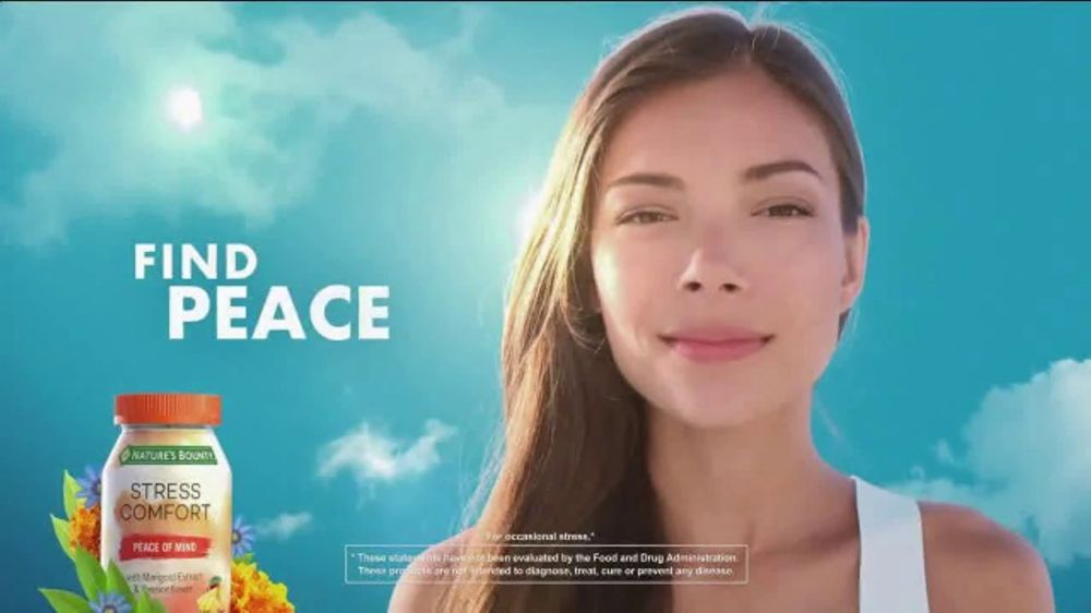 Nature's Bounty Stress Comfort TV Commercial, 'Feeling Stressed?'