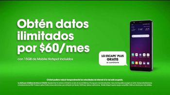 Cricket Wireless TV Spot, 'Ejercicios: $60 dólares' con Bárbara de Regil [Spanish] - Thumbnail 9