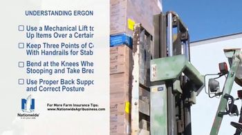 Nationwide Agribusiness TV Spot, 'Understanding Ergonomics' - Thumbnail 4