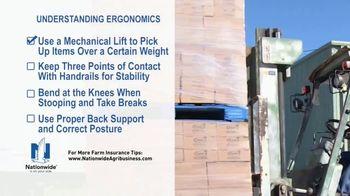 Nationwide Agribusiness TV Spot, 'Understanding Ergonomics' - Thumbnail 5