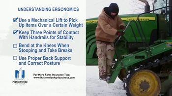 Nationwide Agribusiness TV Spot, 'Understanding Ergonomics' - Thumbnail 6