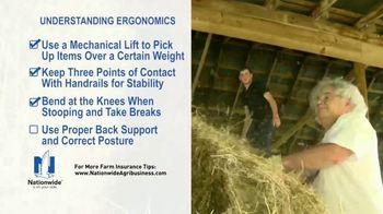 Nationwide Agribusiness TV Spot, 'Understanding Ergonomics' - Thumbnail 7