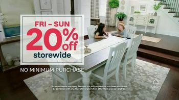 Ashley HomeStore Stars and Stripes Sale TV Spot, 'Save 20% Off Storewide' - Thumbnail 6