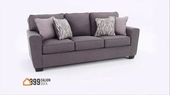 Ashley HomeStore Stars and Stripes Sale TV Spot, '4th of July Doorbusters: Sofa and Dining Table' - Thumbnail 5